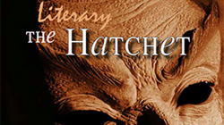 The Print Copy of The Literary Hatchet #6 is For Sale