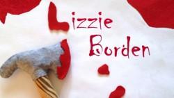 Lizzie Borden Baby Rattle