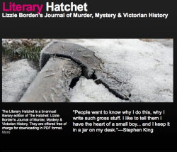Literary Hatchet #7 is Online, NOW!