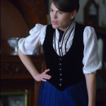 Clea DuVall as Emma Borden.