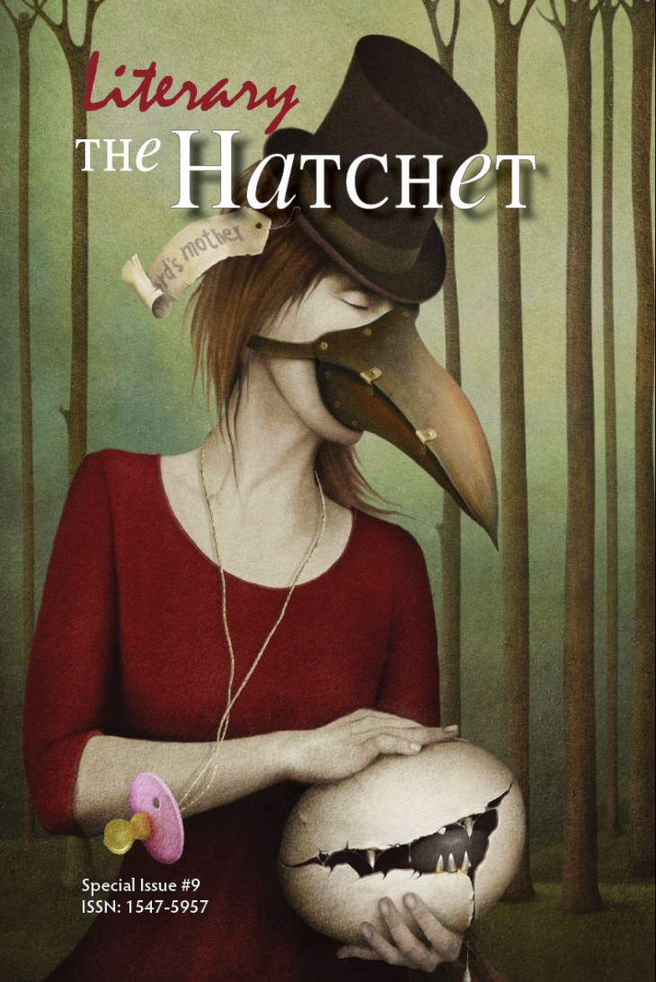 The Literary Hatchet #9 is now for sale in print!
