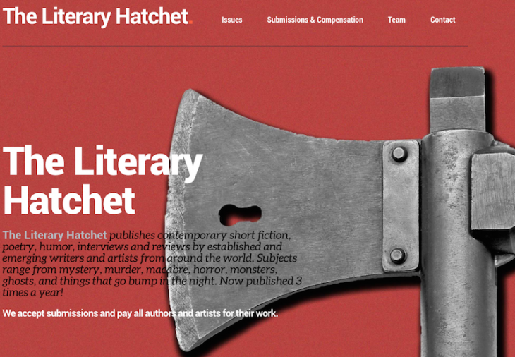 The Literary Hatchet is Accepting Submissions