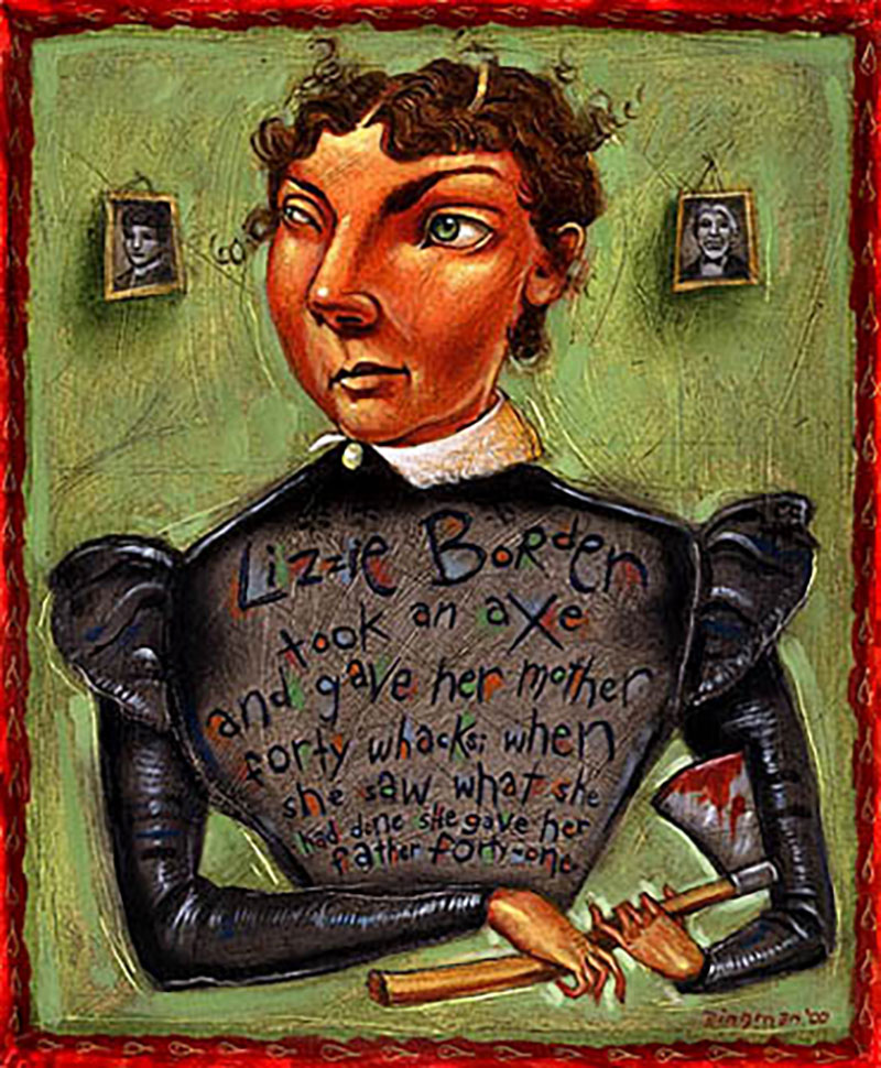 lizzie borden americas little axe murderer essay Lizzie borden - not guilty lizzie borden, who was born in 1860, was charged with the murder of her father and stepmother, andrew and mrs borden, on the 5th of.