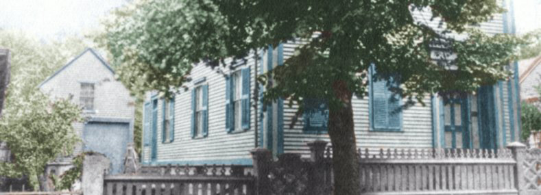 Borden house colorized