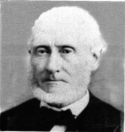 ANDREW JACKSON BORDEN, 1822 - 1892.