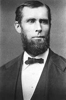 JOHN VINNICUM MORSE, 1833 - 1912.
