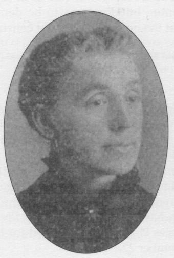 HANNAH B. (HOWE) REAGAN, 1848 - 1924.