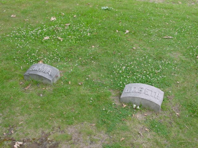 Emma and Lizzie's Grave