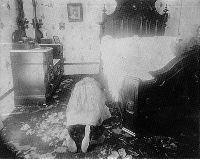 Crime Scene Photo of Abby Borden