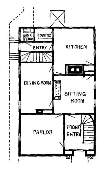 First or Ground Floor Plan