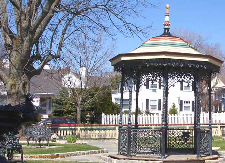 Gazebo at the Fall River Historical Society
