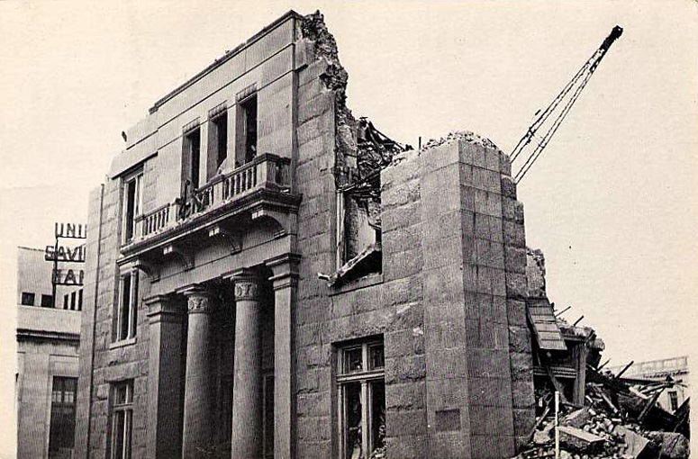 1962 Demolition of City Hall