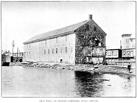 First Cotton Mill in Fall River