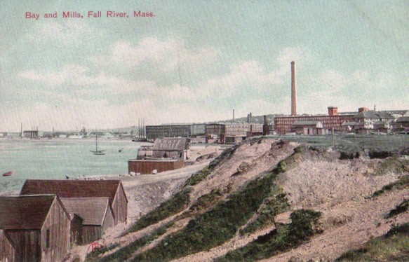 Mount Hope Bay and Mills