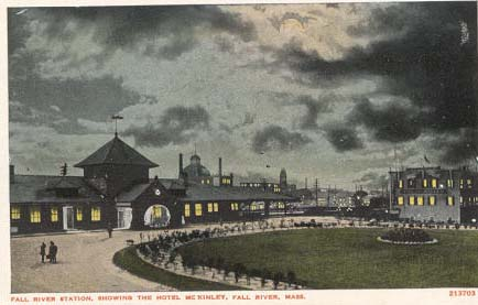 Fall River Train Station