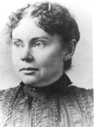 Lizzie Borden circa 1890