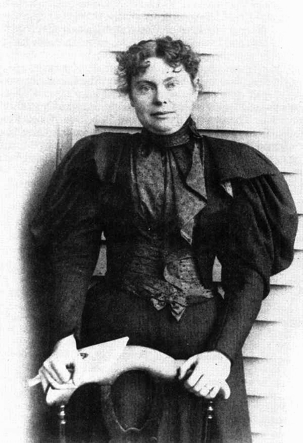 Lizzie Borden following her acquittal