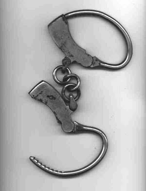 Handcuffs, c. 1890s