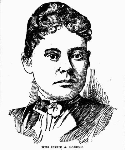 Lizzie Borden in court