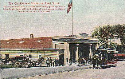 Rail Station, New Bedford