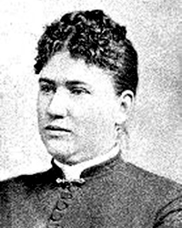 Abby Borden, Lizzie's stepmother -- photo from lizzieandrewborden.com