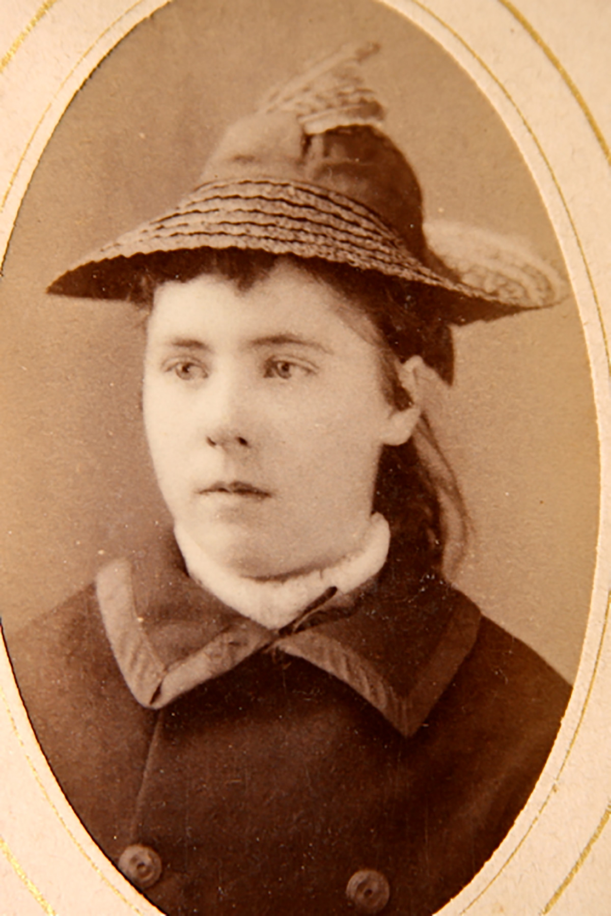 Young Lizzie Borden -- photo from lizzieandrewborden.com